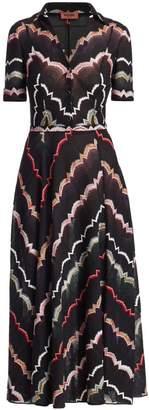 Missoni Chevron Print Midi Dress