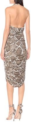 Norma Kamali Exclusive to Mytheresa a Bill snake-print jersey halter dress