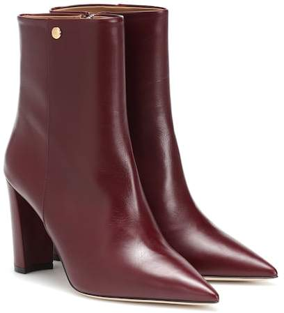 58f6d7ff6fda Tory Burch Leather Boots - ShopStyle