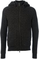 Etro knitted hoodie - men - Silk/Polyester/Cashmere/Wool - M
