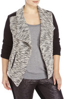 BB Dakota Plus Size Gertsen Marled Jacket