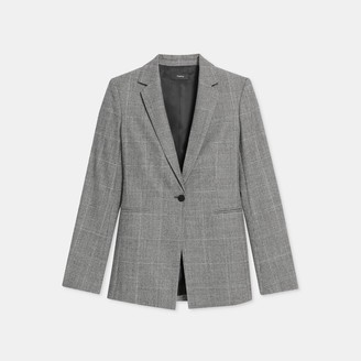 Theory Power Blazer in Wales Flannel