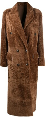 Simonetta Ravizza Paula double breasted coat