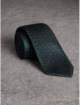 Burberry Slim Cut Flecked Silk Tie