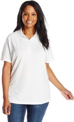 Riders by Lee Indigo Women's Plus-Size Morgan Short Sleeve Polo Shirt