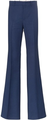 Gucci Mid-Rise Flared Trousers