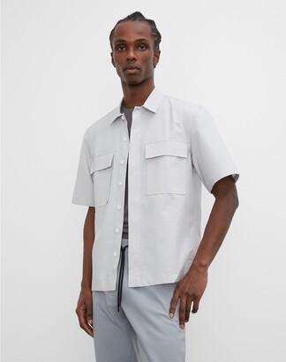 Club Monaco Short Sleeve Utility Shirt