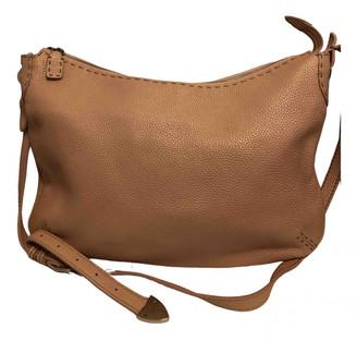 Fendi Anna Selleria Pink Leather Handbags