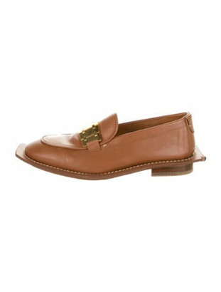 Lanvin Leather Loafers Brown