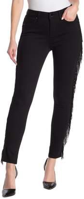 Seven7 Side Fringe Skinny Jeans