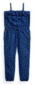 Polo Ralph Lauren Little Girls Star-Print Romper