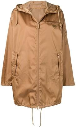 Prada logo raincoat