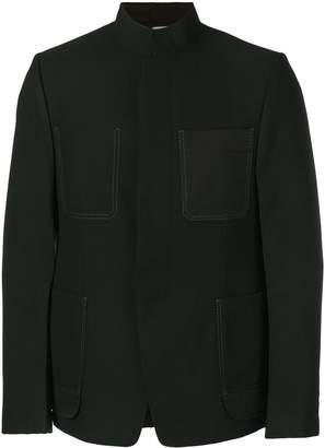 Lanvin contrast stitching blazer
