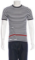Jil Sander Striped Short Sleeve T-Shirt