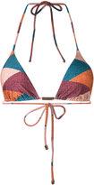Vix geometric print bikini top - women - Polyamide/Spandex/Elastane - S