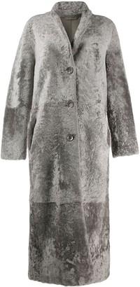 S.W.O.R.D 6.6.44 Longline Shearling Coat