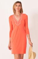 Hale Bob Necha Jersey Dress In Coral