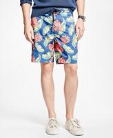 Brooks Brothers Tropical Print Board Shorts