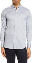 Ted Baker Nochoc Slim Fit Button-Up Shirt