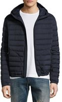 Ralph Lauren Barton Hooded Down Jacket, Navy Blue