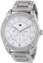 Tommy Hilfiger Women's 1781252 Silver Stainless-Steel Quartz Watch with Dial