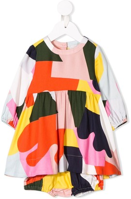 Stella Mccartney Kids Colour Block Dress