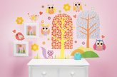 Oopsy Daisy Fine Art For Kids 54 by 30-Inch Peel and Place Patterned Park Medium by Rachel Taylor, Medium