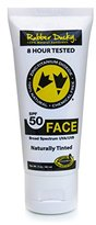 Rubber Ducky Sunscreen SPF 50 Naturally Tinted Face Sunscreen Tube, 2 oz