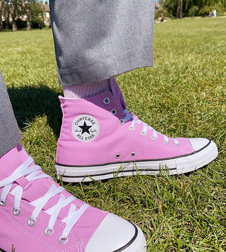 Converse Chuck Taylor All Star Hi sneakers in pink