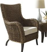 Panama Jack Sanibel Wingback Chair Sunroom Upholstery Color: Bahamian Bree Surf