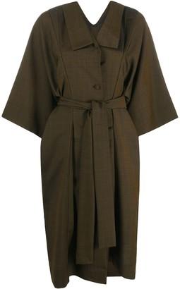Henrik Vibskov Kimono-Sleeve Shirt Dress
