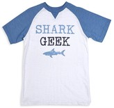 Butter Shoes Boys' Shark Geek Tee - Little Kid