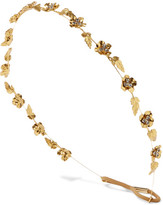 Jennifer Behr Margaux Gold-plated Swarovski Crystal Headband - one size