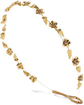 Margaux Gold-plated Swarovski Crystal Headband