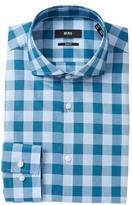 HUGO BOSS Check Slim Fit Dress Shirt