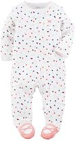 Carter's Baby Girl Polka-Dot Ballerina Sleep & Play