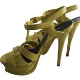 Saint Laurent Leather sandal
