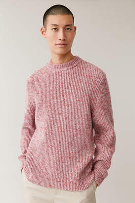 Cos Chunky Mouline-Knit Sweater