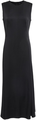 Joseph Satin-crepe Midi Dress