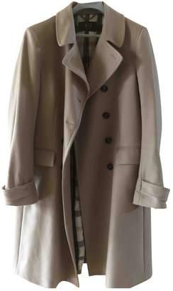 Daks London Camel Wool Coat for Women