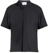 Kolor Short-sleeved Wool Shirt