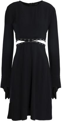 Proenza Schouler Convertible Satin-crepe Mini Dress