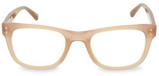 Linda Farrow 51MM Round Novelty Optical Glasses