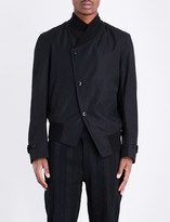 Ann Demeulemeester Double-breasted bomber jacket
