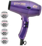 Parlux 3500 Supercompact Ionic and Ceramic Hair Dryer - Purple