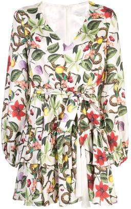 Borgo de Nor Olivia wrap dress