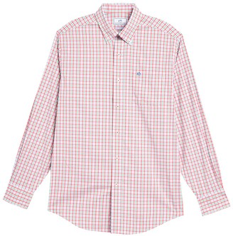 Southern Tide Surf Song Plaid Sport Fit Shirt