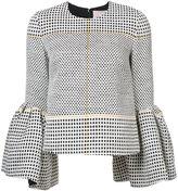 Roksanda bell-shaped blouse - women - Silk/Linen/Flax/Polyamide/Viscose - 8