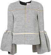 Roksanda bell-shaped blouse - women - Viscose/Linen/Flax/Polyamide/Silk - 8
