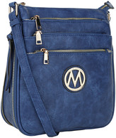 Mkf Collection By Mia K. MKF Collection by Mia K. Women's Handbags Royal - Blue Salome Expandable Crossbody Bag